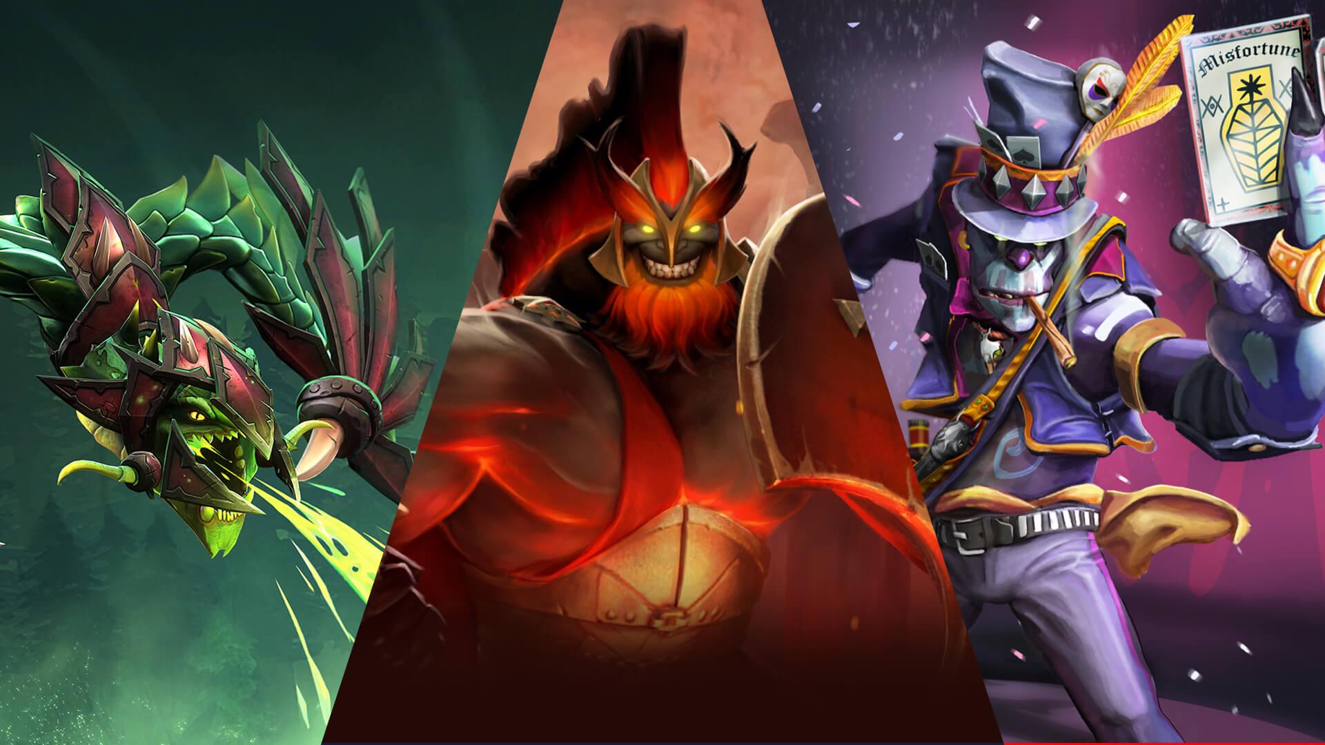 3 héroes subestimados para elegir para tu próxima carrera en el Laberinto  de Aghanim