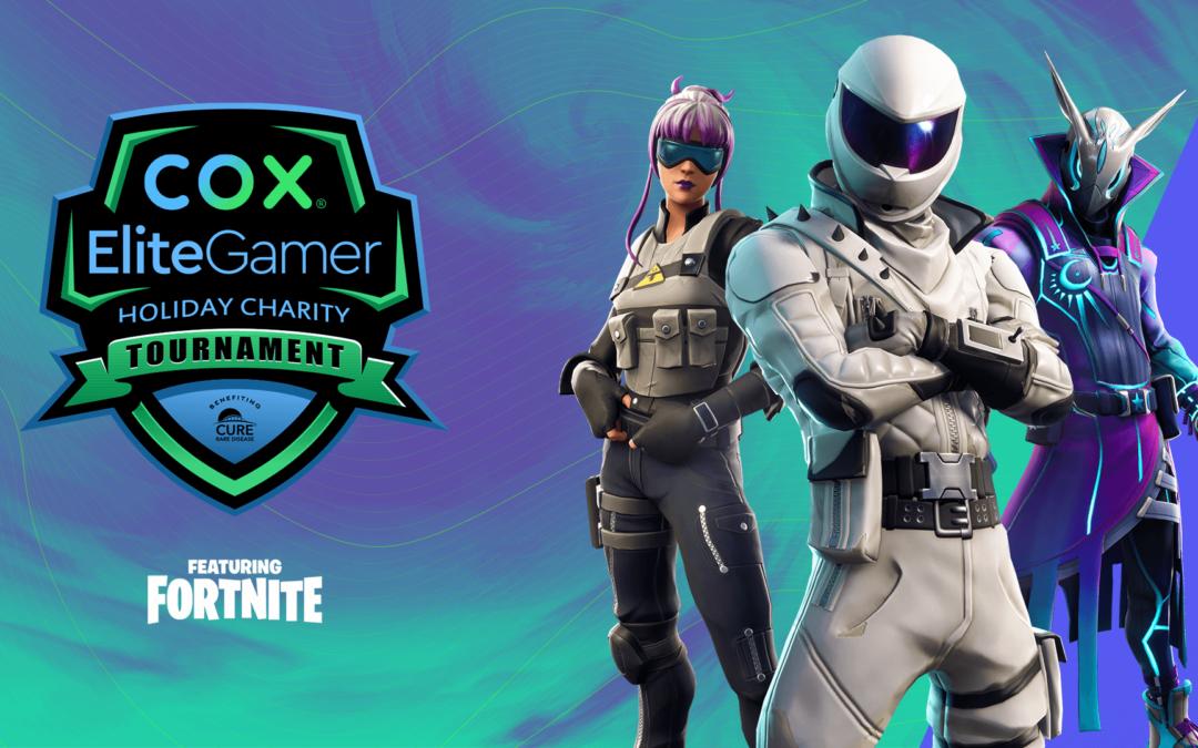 Cox recauda más de $ 42,000 para curar enfermedades raras con el torneo Elite Gamer Holiday Charity Fortnite
