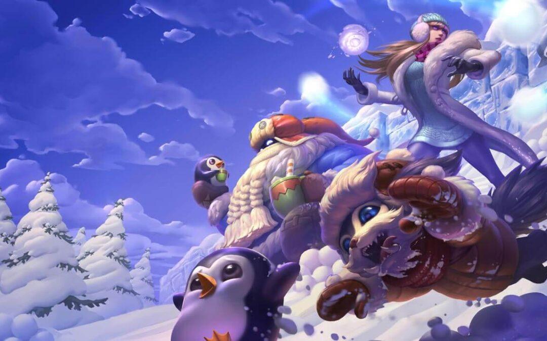 Las mejores skins de League of Legends Snowdown