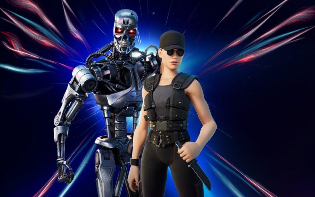 Sarah Connor y T-800 de Terminator ya están disponibles en Fortnite