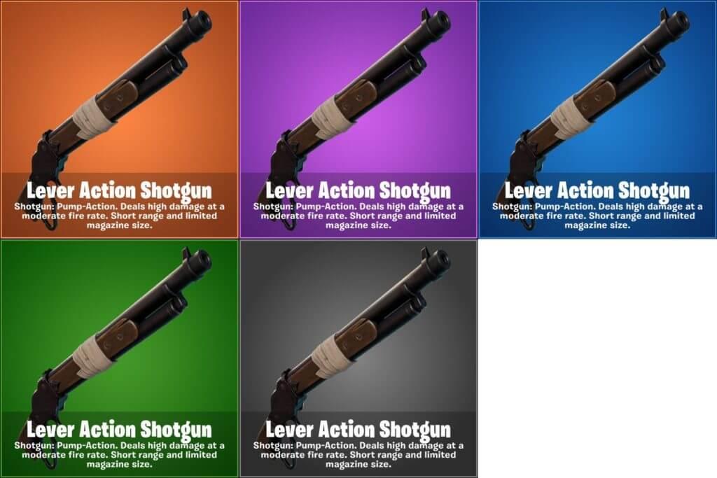 Escopeta Lever Action