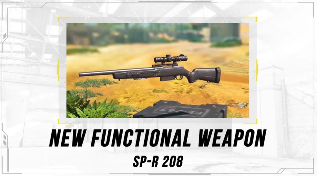 El rifle de tirador SP-R 208 ahora disponible en CoD: Mobile