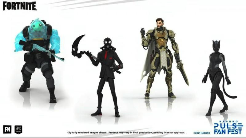 Hasbro revela nueva línea de juguetes Fortnite 'Victory Royale' 2