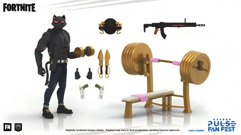 Hasbro revela nueva línea de juguetes Fortnite 'Victory Royale' 3