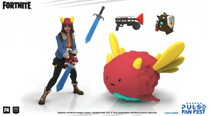Hasbro revela nueva línea de juguetes Fortnite 'Victory Royale' 4