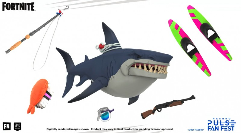 Hasbro revela nueva línea de juguetes Fortnite 'Victory Royale' 5