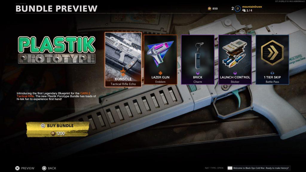 CARV.2 en Call of Duty: Black Ops Cold War