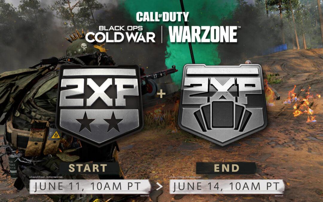 CoD: Black Ops Cold War y Warzone obtienen doble XP y doble XP del pase de batalla